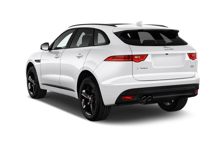 Jaguar F-PACE SUV 2.0 d 163PS R-Sport 5Dr Manual [Start Stop] back view