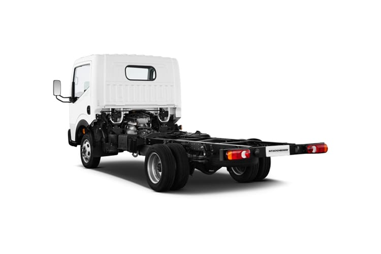 Nissan NT400 Cabstar 35.13 SWB 3.0 dCi DRW 130PS  Chassis Cab Manual back view