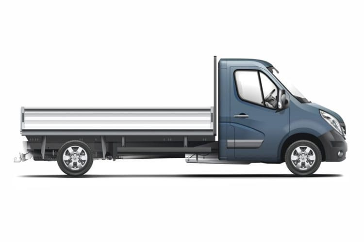 Renault Master MWBL 35TW 4X4 2.3 dCi ENERGY DR4 145PS Business Dropside Double Cab Manual [Start Stop] detail view