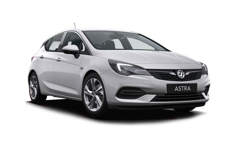 Vauxhall Astra Hatch 5Dr 1.4 i Turbo 145PS SE 5Dr CVT [Start Stop] front view