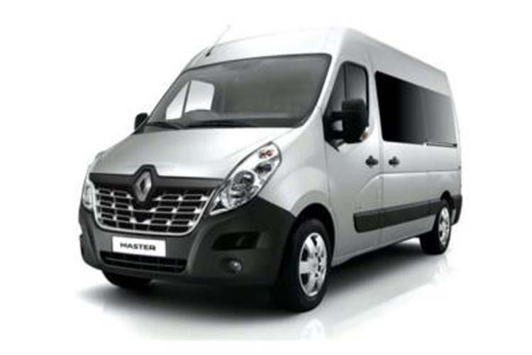 Renault Master LWBL 35TW 4X4 2.3 dCi ENERGY DR4 145PS Business Window Van Medium Roof Manual [Start Stop] front view