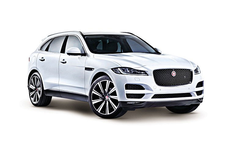 Jaguar F-PACE SUV 2.0 d 163PS R-Sport 5Dr Manual [Start Stop] front view