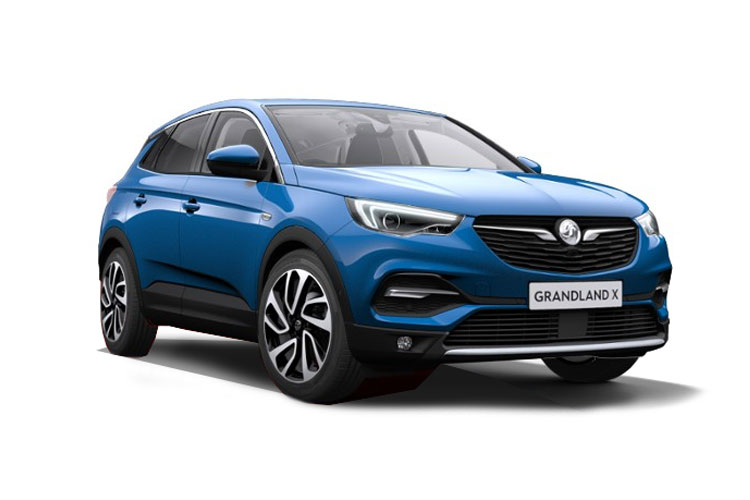 Vauxhall Grandland X SUV 1.5 Turbo D 130PS Ultimate 5Dr Manual [Start Stop] front view