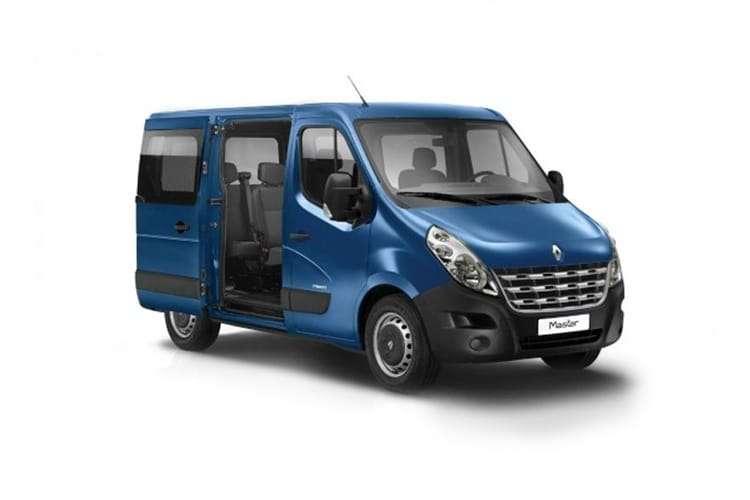 Renault Master MWB 35 FWD M1 2.3 dCi ENERGY FWD 145PS Business Combi Medium Roof Manual [Start Stop] [9Seat] front view