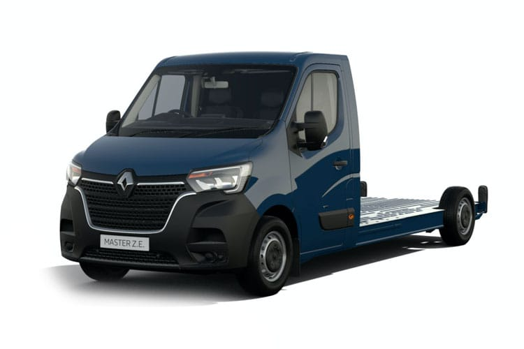 Renault Master LWBL 35TW 4X4 2.3 dCi ENERGY DR4 145PS Business Chassis Cab Manual [Start Stop] front view
