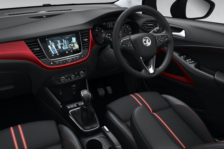 Vauxhall Crossland SUV 1.2 Turbo 130PS SRi Nav 5Dr Manual [Start Stop] inside view