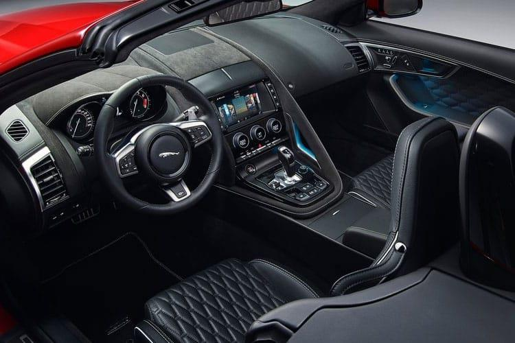 Jaguar F-TYPE Convertible AWD 5.0 V8 450PS R-Dynamic 2Dr Auto [Start Stop] inside view