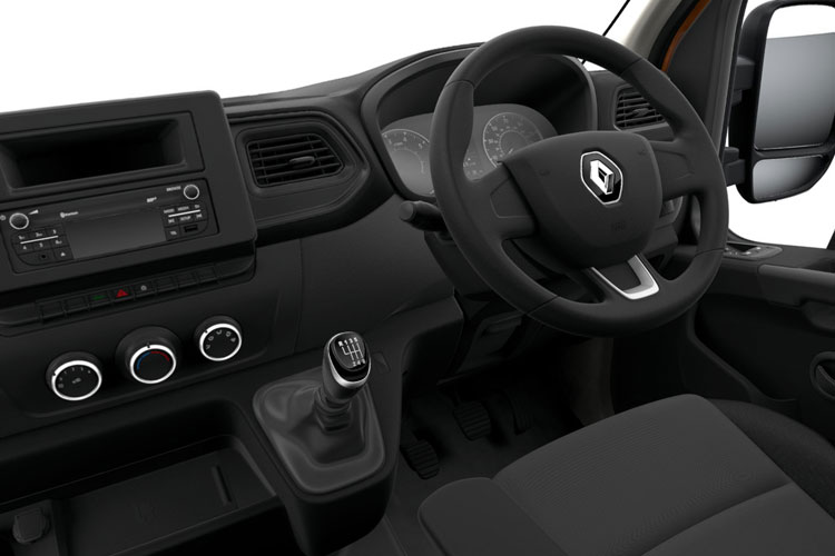 Renault Master LWB 35 FWD 2.3 dCi FWD 135PS Business Dropside Manual [Rear Corner Pillars] inside view
